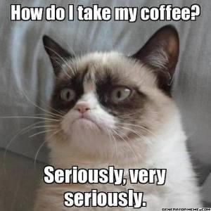 How Do I Take My Coffee