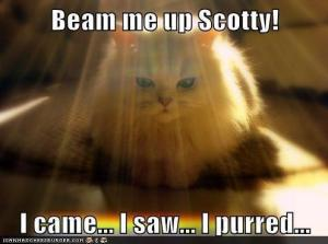 Beam Me Up, Scotty!
