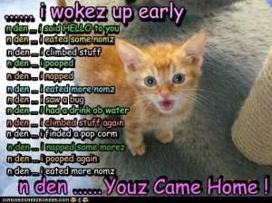 I Woke Up Early