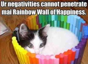 Rainbow Wall of Happiness