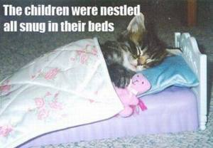The Children Were All Nestled Snug in Their Beds