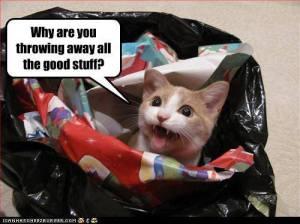 Throwing Away the Good Stuff